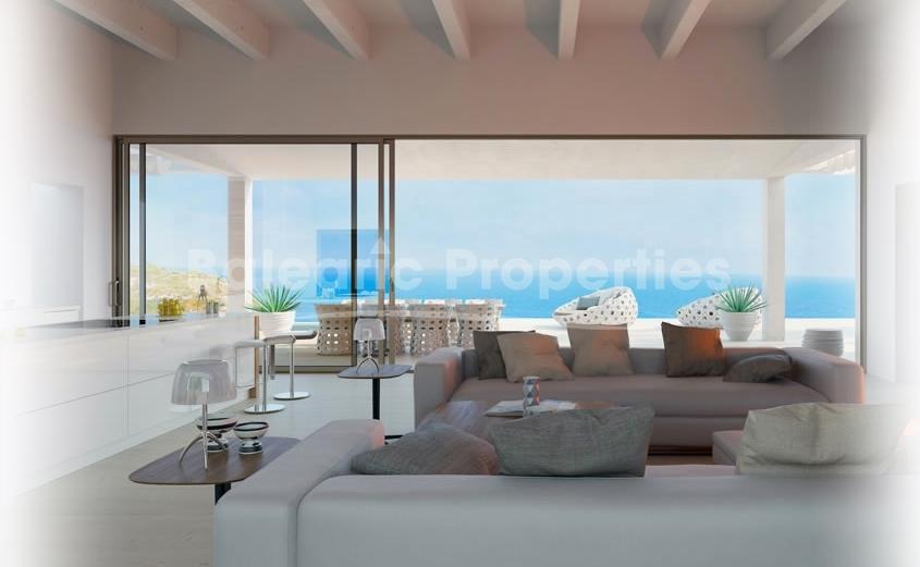Brand New 4 Bedroom Villa With Sea Views In North Mallorca