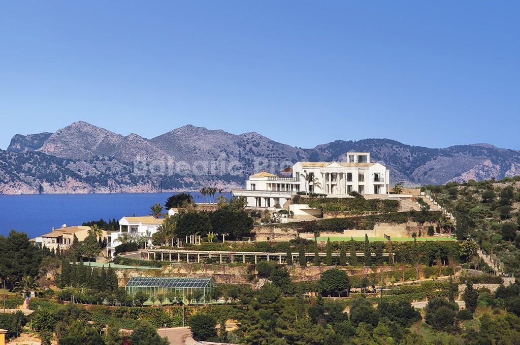 Luxury Villa In Mallorca With Private Helipad Spa Indoor