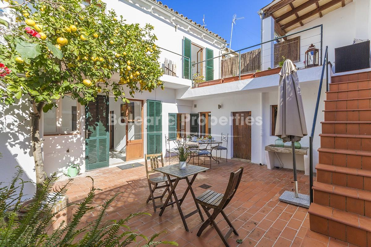 Centrally located town house for sale in Pollensa, Mallorca