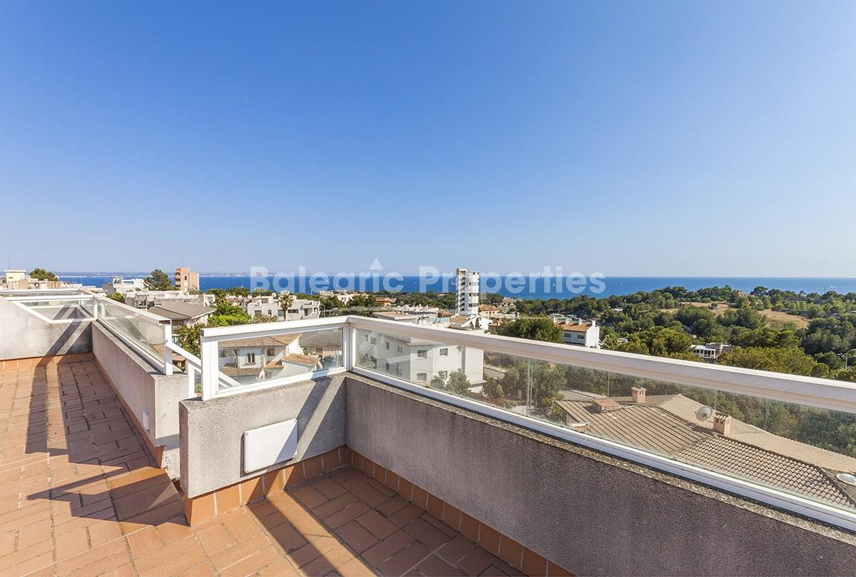 Amazing penthouse with sea views in Palma, Mallorca