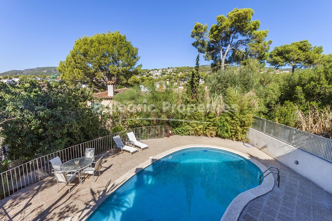 Villa with pool for sale in sought after area of Bendinat, Mallorca