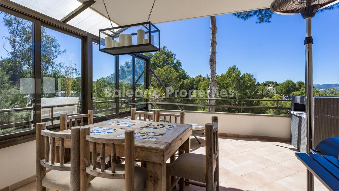Sea view apartment for sale in Santa Ponsa, Mallorca